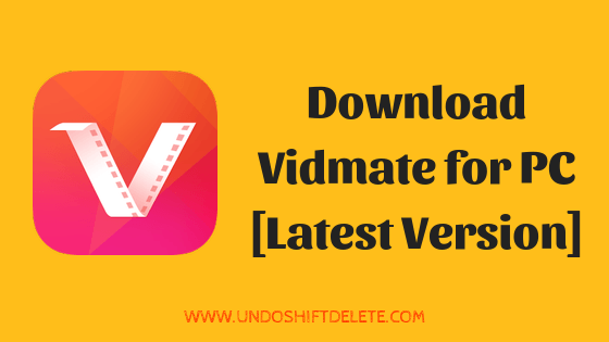 Download Vidmate For Pc Windows 10 8 7 Laptop Free